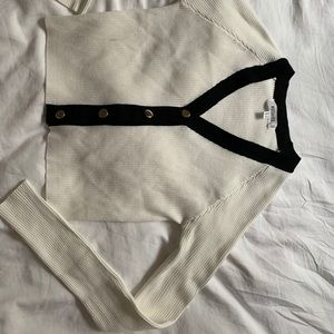 Missguided Cropped Cardigan